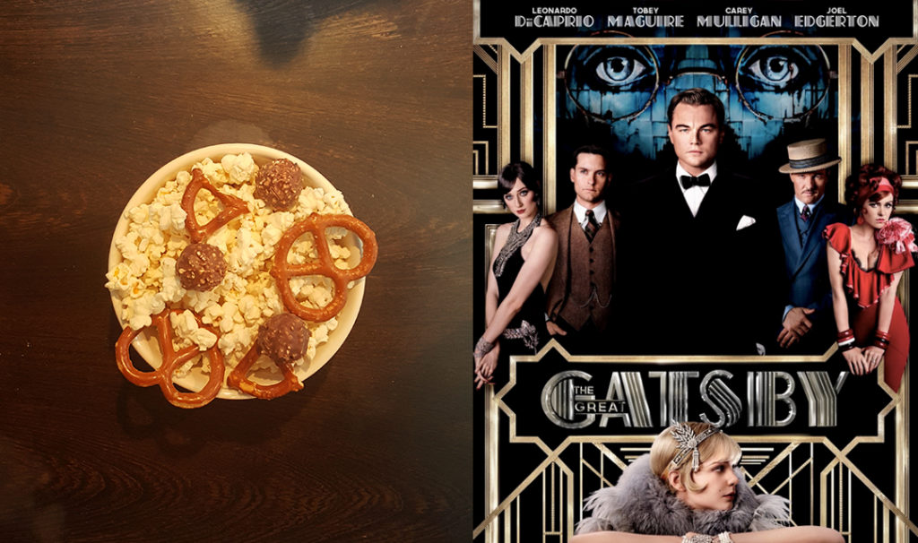 Popcorn + Great Gatsby