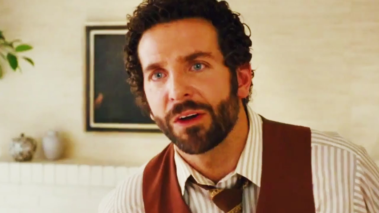 Bradley Cooper Perm American Hustle | anchorman 2 and ...