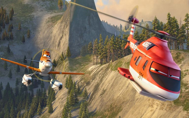 "film title: Planes 2: Fire & Rescue  (2014)....PLANES FIRE & RESCUE...""PLANES FIRE & RESCUE"" (L-R) DUSTY, BLADE RANGER. 2014 Disney Enterprises, Inc. All Rights Reserved."