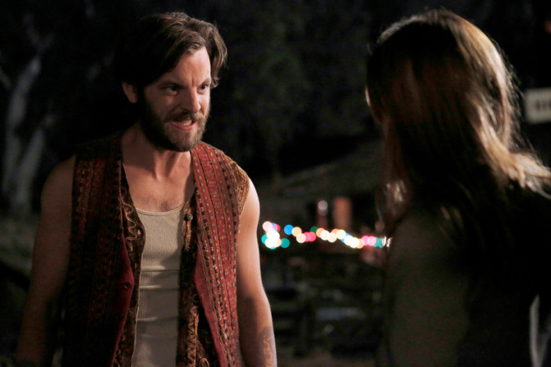 "AQUARIUS -- ""Please Let Me Love You And It Won't Be Wrong"" Episode 112 -- Pictured: Gethin Anthony as Charles Manson -- (Photo by: Vivian Zink/NBC)"
