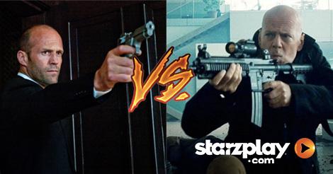 Action Hero Skills Showdown: Jason Statham vs Bruce Willis
