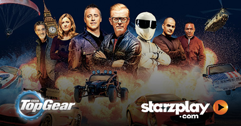 Latest Season of Top Gear to Exclusively Air on STARZPLAY.com