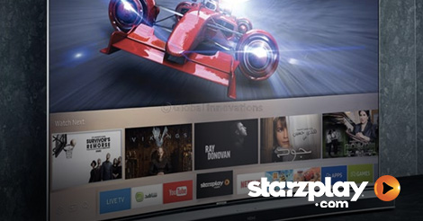 GITEX: STARZPLAY Available on Samsung Quantum dot display SUHD TV