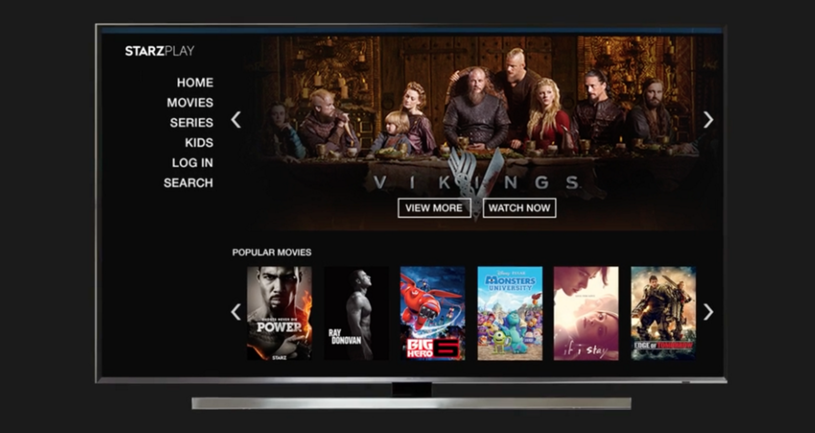 How-To: STARZPLAY on Samsung TV