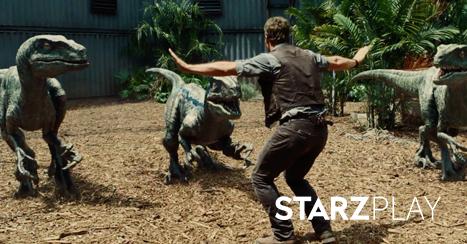 Jurassic World on STARZPLAY November 1