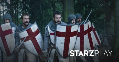 First Look at Knightfall Coming to STARZPLAY