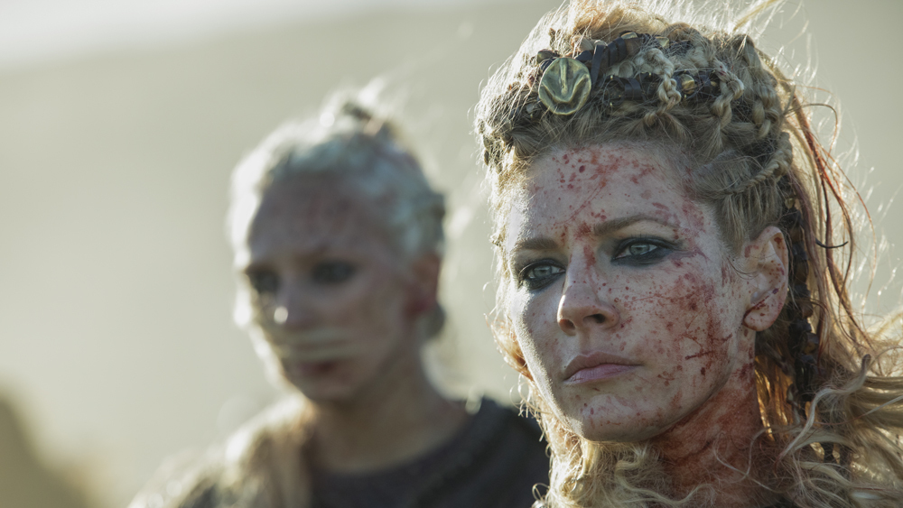 'Vikings' Season 5B Trailer Shows A Bloody War Between Ivar & Lagertha