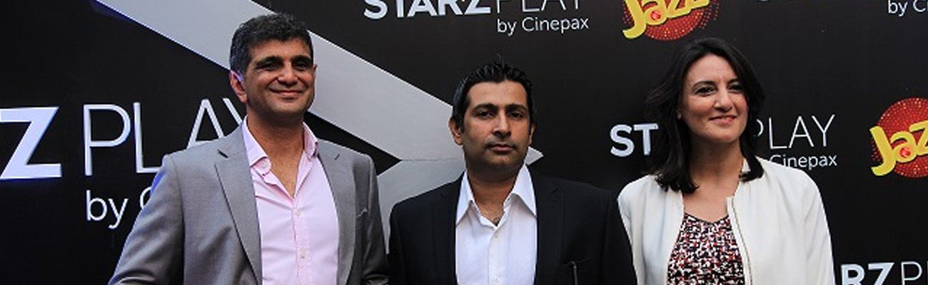 Cinepax Announces Joint-Venture With Leading On-Demand Streaming Service on STARZPLAY