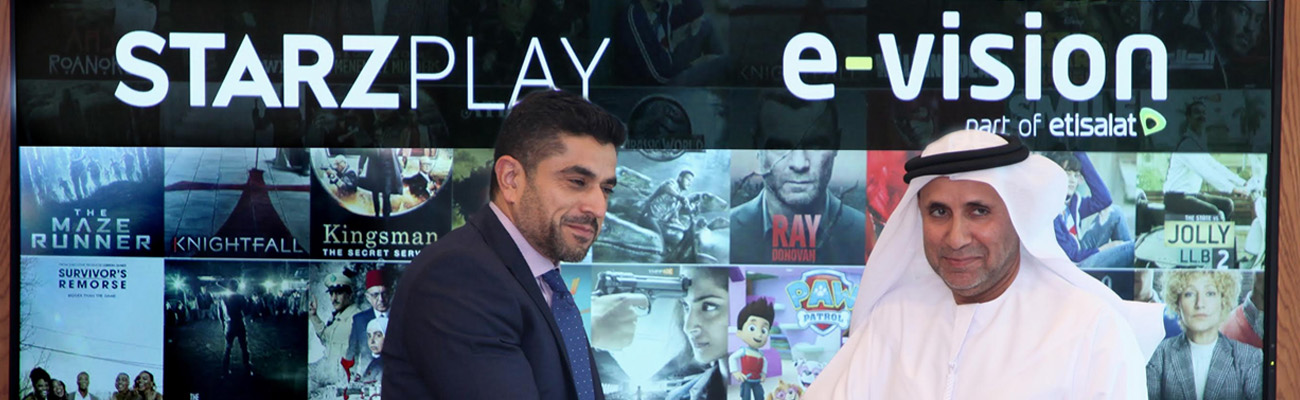 E-Vision enters exclusive 5-year deal with STARZPLAY