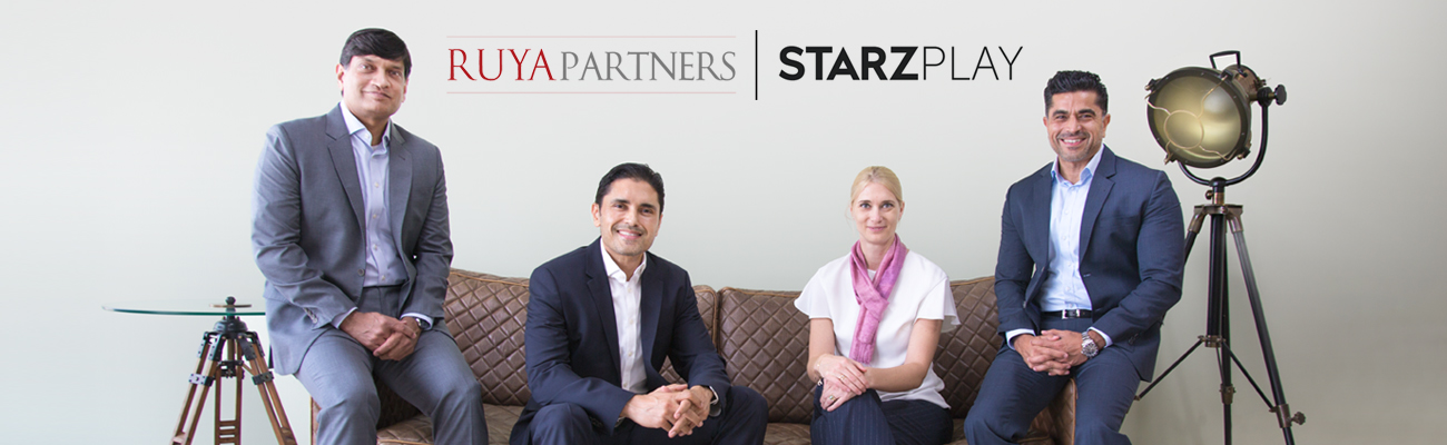 STARZPLAY secures first debt financing of US$25 million (AED 92 million) from Ruya Partners