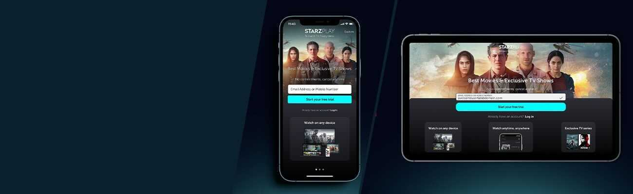 How-To: Watch STARZPLAY on Mobile & Tablet